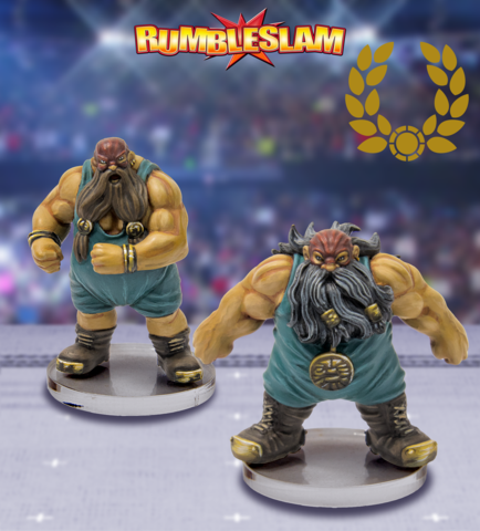 RUMBLESLAM: Dwarf Brawler & Dwarf Grappler