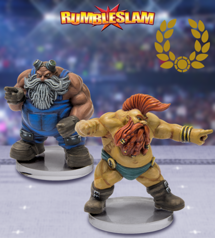 RUMBLESLAM: Dwarf Mechanic & Glory Seeker
