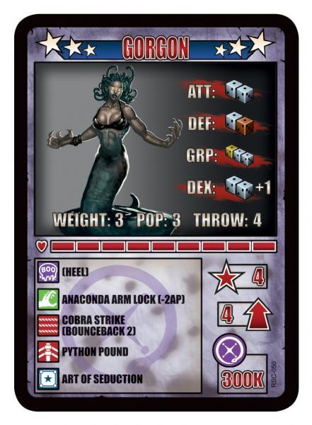 RUMBLESLAM: Gorgon