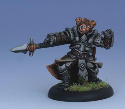 (Cygnar) Magus Damien Sperling, Warcaster