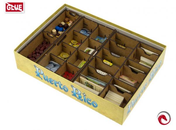 Board Game Accessories: Puerto Rico Insert