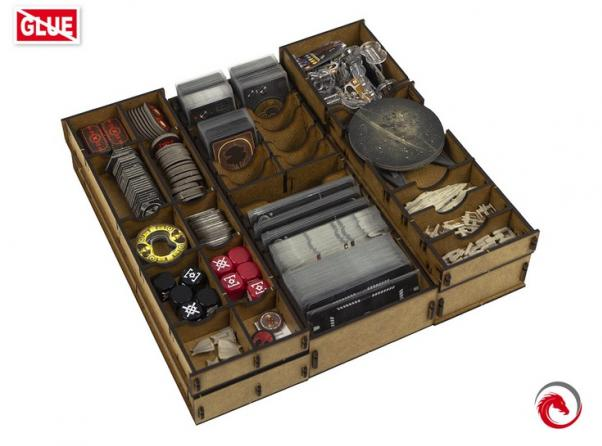 Board Game Accessories: Star Wars Rebellion Insert Organizer
