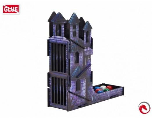 Dice Towers: Dice Tower Castle FullPrint Blue