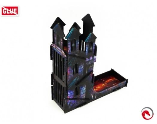 Dice Towers: Dice Tower Castle FullPrint Lava