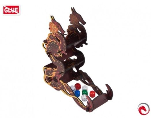 Dice Towers: Dice Tower Firestarter Dragon Black