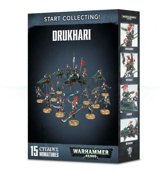 WH40K: Start Collecting! Drukhari
