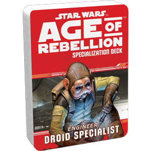 Age of Rebellion RPG: Droid Specialist Specialization Deck