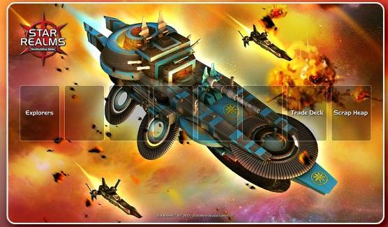 Star Realms: Playmat - Light Cruiser