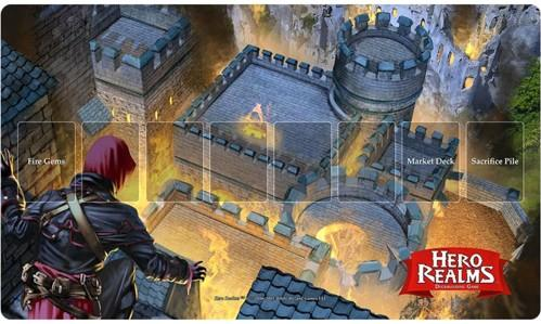 Hero Realms: Playmat - Fire Bomb