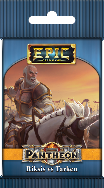 Epic Card Game: Pantheon - Riksis vs Tarken (1 random sealed booster pack)