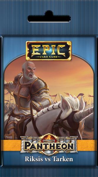 Epic Card Game: Pantheon - Riksis vs Tarken (1 random sealed booster pack)