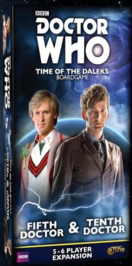Doctor Who: Time of the Daleks Expansion - Fifth Doctor & Tenth Doctor