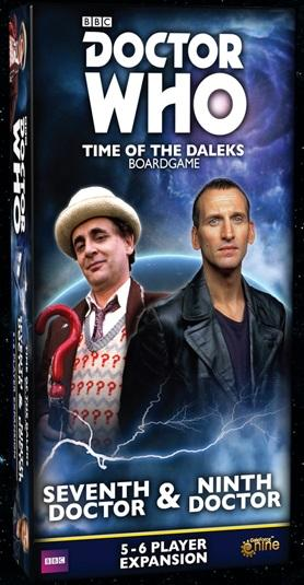 Doctor Who: Time of the Daleks Expansion - Seventh Doctor & Ninth Doctor