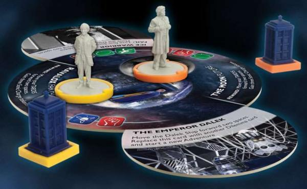 Doctor Who: Time of the Daleks Expansion - Second Doctor & Sixth Doctor