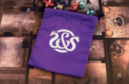 Sword & Sorcery: Critical Hits Bag - Purple (Accessory)
