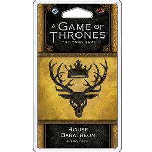 A Game of Thrones LCG: House Baratheon Intro Deck