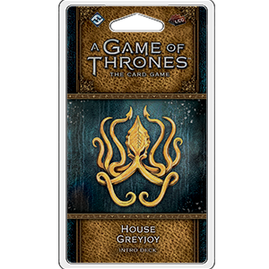 A Game of Thrones LCG: House Greyjoy Intro Deck