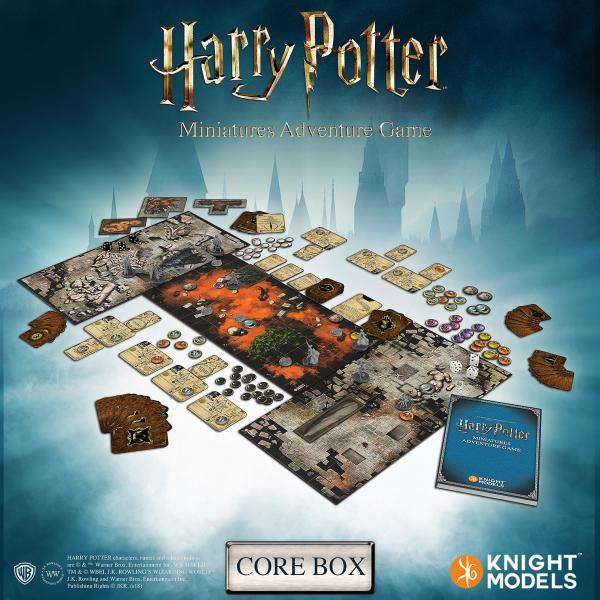 Harry Potter Miniatures Adventure Game: Core Game (1st Edition)