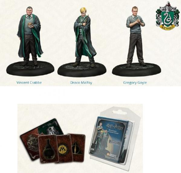 Harry Potter Miniature Game: Slytherin Students Pack