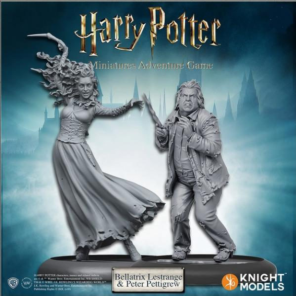 Harry Potter Miniature Game: Bellatrix and Wormtail (Peter Pettigrew) Pack