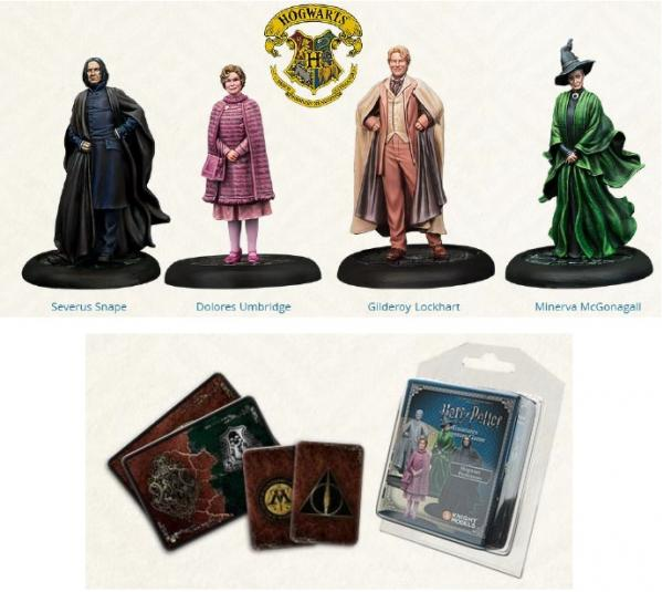 Harry Potter Miniature Game: Hogwart's Professors Pack