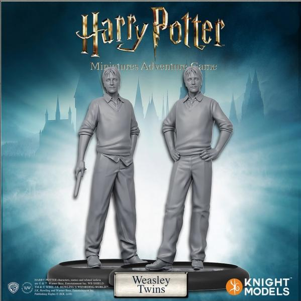 Harry Potter Miniature Game: Fred and George, Weasly Twins Pack