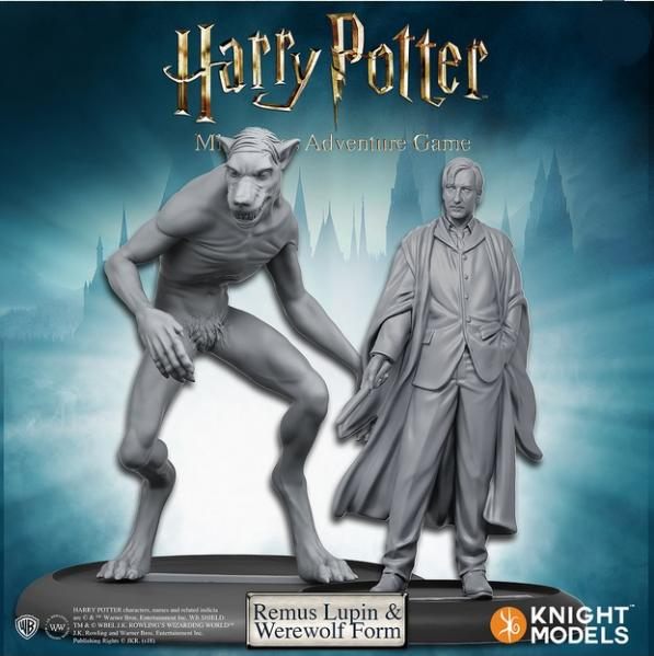 Harry Potter Miniature Game: Remus Lupin and Werewolf Form Pack