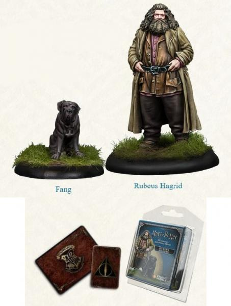 Harry Potter Miniature Game: Rubeus Hagrid and Fang Pack