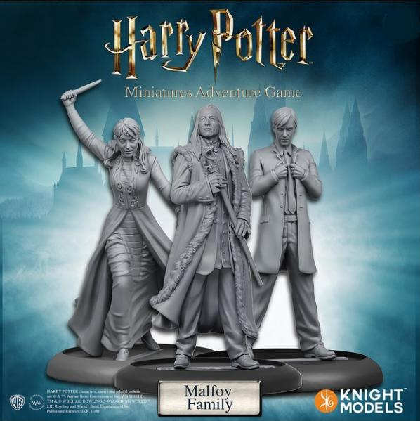 Harry Potter Miniature Game: Malfoy Family Pack