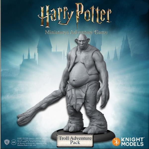 Harry Potter Miniature Game: Troll Adventure Pack Tin
