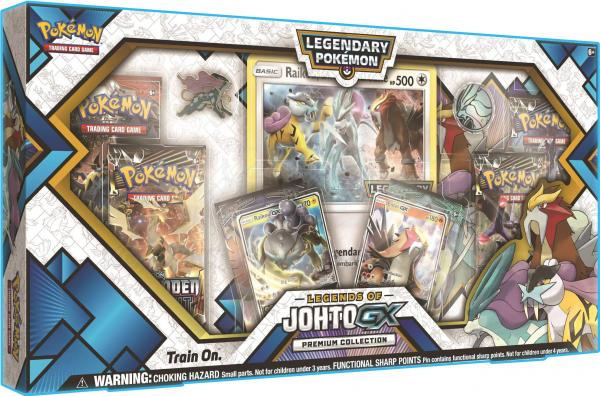 Pokemon CCG: Legends of Johto GX Premium Collection