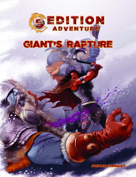 D&D 5th Edition Adventures: Giant's Rapture