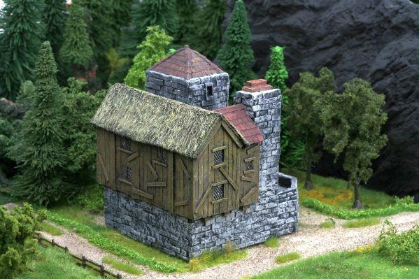 28mm Terrain: Dwarf Blacksmith's Shop