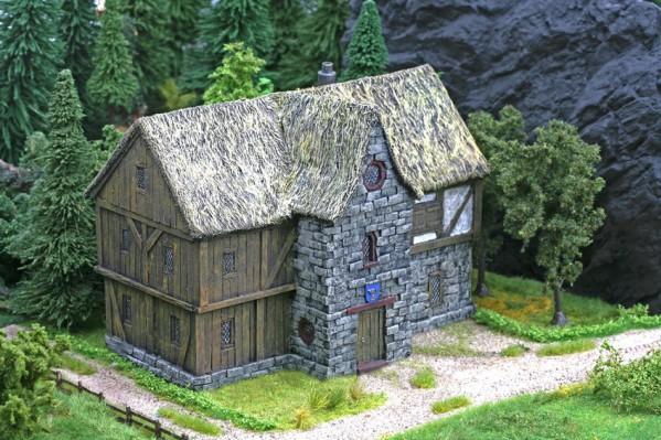 28mm Terrain: Dwarf Trading House