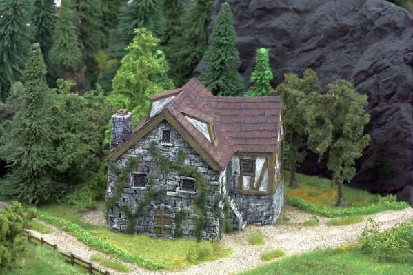 28mm Terrain: Dwarf Dwelling