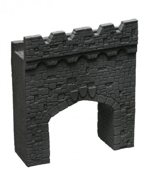 28mm Terrain: Town Gate