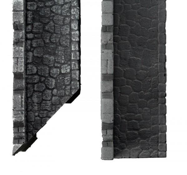 28mm Terrain: Town Wall (straight)