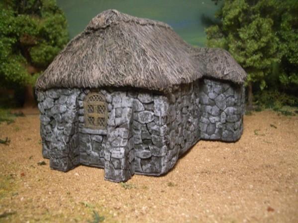 28mm Terrain: Druid House