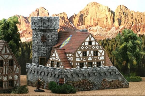 28mm Terrain: Watchtower ''Dragonstone''