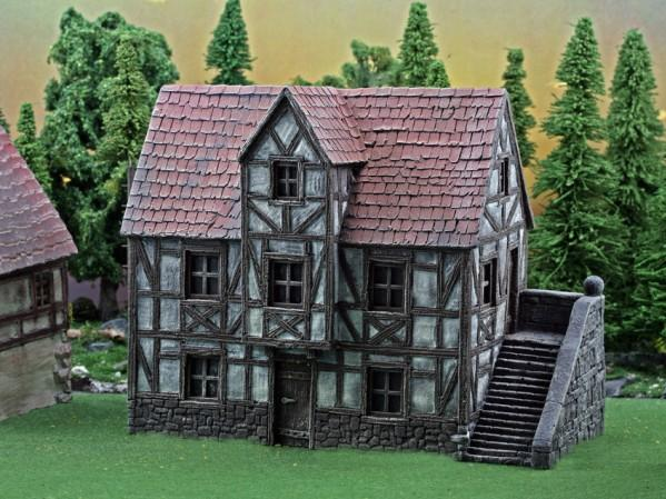 28mm Terrain: Guesthouse