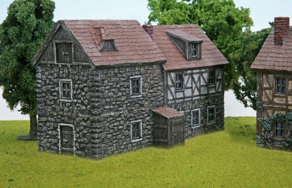 28mm Terrain: Mill Court