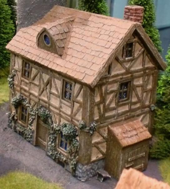 28mm Terrain: Wizard's Home