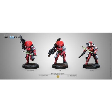Infinity (#716) Non-Aligned Armies NA2: Tanko Zensenbutai (3)