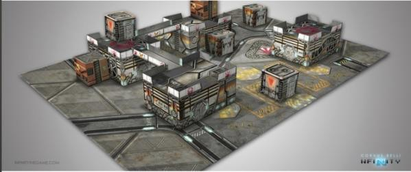 Infinity Accessories: Kurage Station Scenery Pack