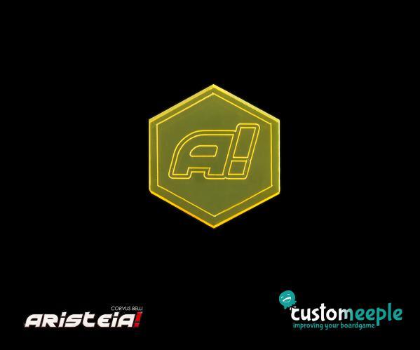 Aristeia!: Underdog Token (Orange Fluor)