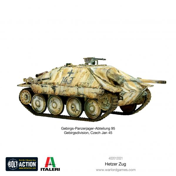 Bolt Action, 2nd Edition: Hetzer Zug