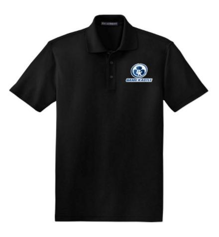 Game Kastle Employee Shirt (Black) (X LARGE)