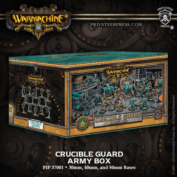 Warmachine: Golden Crucible Army Box (metal/resin/plastic)