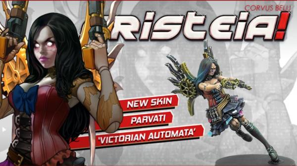 Aristeia!: Parvati - Victorian Automata