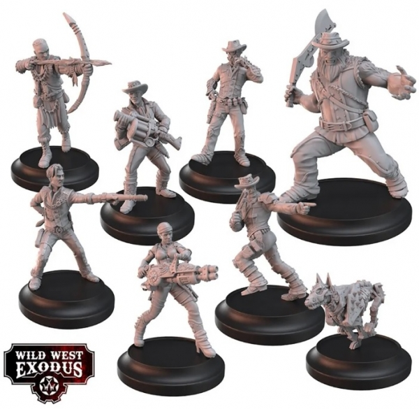 Wild West Exodus: The Deadly Seven Posse Posse Box Set